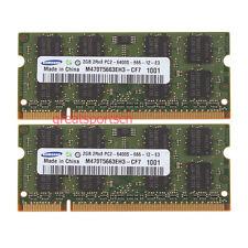 4GB 2X 2GB PC2-6400 DDR2-800MHz SODIMM Memory For MacBook iMac 2008 2009 #879
