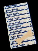 120 LARGE NASAL STRIPS Breathe and Sleep Better Reduce Snoring Now (100+20)
