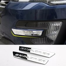 for NEW Ford Explorer chrome strip decorative trims for zone of front fog lights