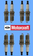 Set 8 OEM FORD Motorcraft SP405 Spark Plugs AGSF22FM1 Platinum 4.4L 4.6L 5.4L V8