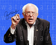 Bernie Sanders signed Democratic Nominee 8X10 poster picture autograph RP