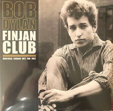 BOB DYLAN-Finjan Club, Montreal Canada, July 2, 1962  UK 2XLP NEW