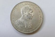 """5 Deutsche Mark 1913 A """"Wilhelm II Deutscher Kaiser König von Preussen"""", silver"""