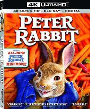 Peter Rabbit (4K UHD+ Blu-Ray + Digital) 2018, w/SLIP COVER ***NEW & SEALED***