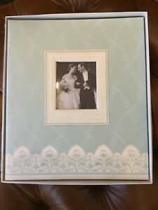 "Hallmark ""ALWAYS AND FOREVER""  Wedding Post-Bound Photo Album! New With Box!"