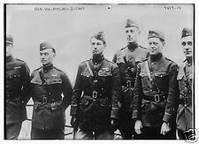 "US Army General William Mitchell & Staff World War 1, 5.5x4"" Reprint Photo a"