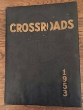 1953 Crossroads Joplin Junior College Missouri yearbook