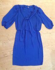 Vintage Variations Dress Blue Long Sleeve Size 16