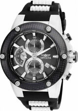 Invicta 22400 Men's Speedway 51mm Black Polyurethane Band Quartz Analog Watch