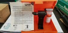 Lyman Deburring Tool Pedistal mount Fits .17 to .45 Caliber Takes other tools.