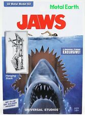 New Universal Studios Metal Earth Jaws Hanging Shark 3D Metal Model Kit