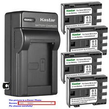 Kastar Battery Wall Charger for Canon NB-2L CB-2LW & Canon EOS Digital Rebel Xti