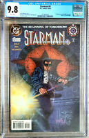 Starman #0 DC Comics CGC 9.8 1994