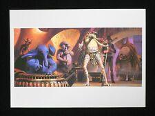 Vintage Star Wars 1982 ROTJ Ralph McQuarrie Print #4 Max Rebo Band - Nice