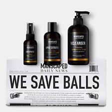 MANSCAPED™ Crop Essentials, Male Care Hygiene Bundle, Includes Invigorating