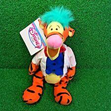 """NEW Disney Mini Bean Bag MAD SCIENTIST TIGGER 9"""" Winnie The Pooh Plush Toy MWMT"""