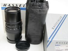 Hasselblad CFI 250mm f:5.6 T* Sonnar lens w caps/pouch/BOX, MINTY US SELLER