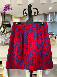 MOSCHINO CHEAP AND CHIC VINTAGE GRAPHIC PRINT MINI SKIRT SIZE XS/S IT 38