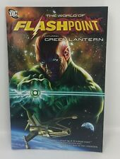 World of FLASHPOINT FEATURING GREEN LANTERN Azzarello DC TPB Graphic Novel