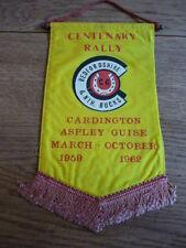 CARAVAN CLUB CENTENARY RALLY, CARDINGTON, 1962 PENNANT