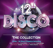 """Various Artists : 12"""" Disco: The Collection CD (2013) ***NEW***"""