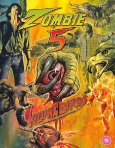 Zombie 5 Killing Birds Deluxe Collector's Edition Blu ray RB