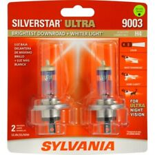 Sylvania 9003 Silverstar ULTRA NIGHT VISION Halogen Headlight Bulbs Pack of 2