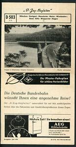 D-Zug-Begleiter D 503, Juli 1953, München – Bonn – Hagen