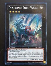 YUGIOH DIAMOND DIRE WOLF GOOD CONDITION VARIOUS EDITION SECRET CBLZ-EN051