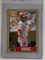 1987 Topps Baseball #648 Barry Larkin RC