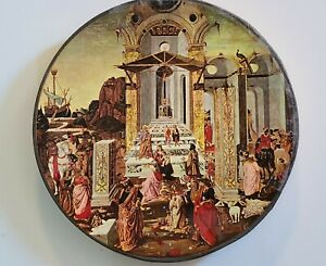 Pre Owned VINTAGE SPRINGBOK ROUND PUZZLE The Epiphany 1965, 513 puzzle pieces