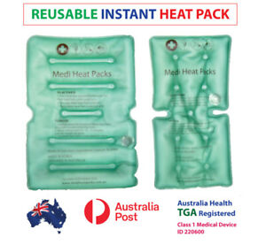 BRAND NEW HEAT PACK AUSTRALIA, INSTANT HEAT PACKS, NECK PAIN, TGA APPROVED