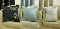 "*FILLED*Arden Cushion Covers Modern Tree Design In 3 Great Colours 17""x17"""