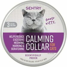 Sentry Pet Care Calming Collar for Cats 3-Count