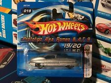 2005 Hot Wheels FIRST EDITIONS silver PROTOTIPO ALFA ROMEO B.A.T. 9 Short Card