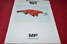 Massey Ferguson 151 Combination Tillage Tool Dealer's Brochure YABE15 ver2