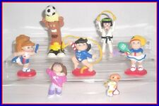 OLYMPIC AND SPORTS TOY LOT - PLAYMOBIL, CABBAGE PATCH KIDS - Gymnastics Soccer