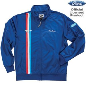 FORD MUSTANG Team Jacke Licensed Product Pit Crew USA Sport Worker Logo Racing