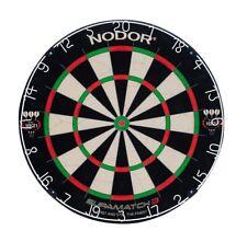 Nodor Darts - Supamatch 3 Profi Bristle Board  Dartscheibe  Steel Dart TOP