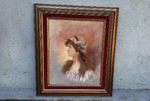 A Pastel Signed Julia 1907