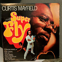 """CURTIS MAYFIELD - Super Fly Soundtrack (CRS-8014-ST) - 12"""" Vinyl Record LP - EX"""