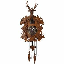 Kendal Handcrafted Wood Cuckoo Clock MX015-2 S3