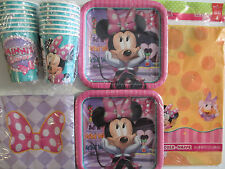 MINNIE MOUSE Bow-Tique Dream Party - Birthday Party Supply Kit for 16