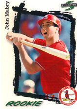 1995 Score John Mabry #301 St Louis Cardinals Baseball Card