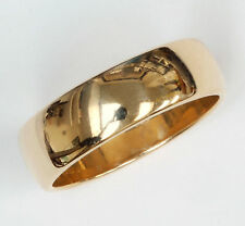 14k Gold Band - by Artcarved - 6.5mm wide