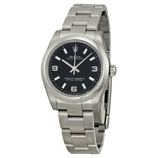 Rolex Oyster Perpetual 31 mm Black Dial Stainless Steel Bracelet Automatic