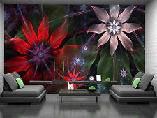 Modern Flower Background Wall Mural Photo Wallpaper GIANT DECOR Paper Poster