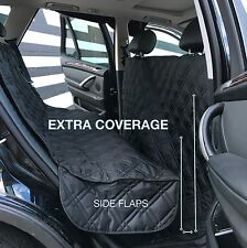 Luxury Quilted Pet Dog Car Seat Cover Cargo Liner Seat Protector BLACK free ship