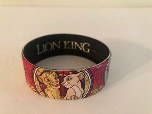 Disney Licensed Rubber Bracelet Wristband Lion King Simba Nala Brand New