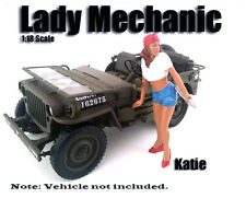 American Diorama Figure: Lady Mechanic Katie 1:18 Scale
